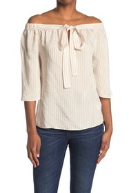 7 For All Mankind Cross Strap Blouse