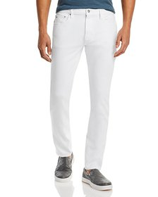 Michael Kors - Parker Stretch Slim Fit Jeans in Wh