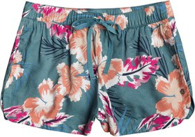 Roxy There You Are Elasticized Beach Shorts - Wome