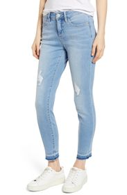 Tommy Bahama Tema High Rise Raw Ankle Crop Jeans