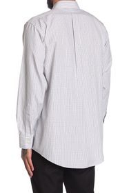 Brooks Brothers Check Print Long Sleeve Madison Fi