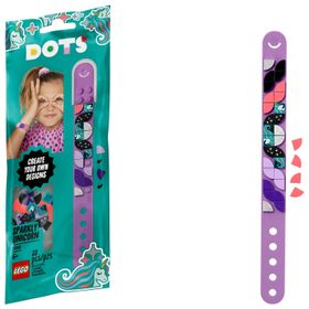 LEGO DOTS Sparkly Unicorn Bracelet 41902 DIY Craft