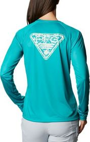 Columbia Tidal Tee PFG Printed Triangle Long-Sleev