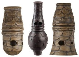 flextone Spit-N-Thunder Mouth Turkey Call - 3-Pack