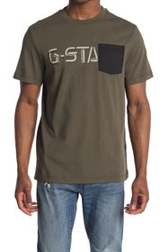 G-STAR RAW Ripstop Graphic Crew Neck T-Shirt