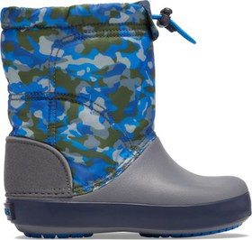 Crocs Crocband LodgePoint Graphic Winter Boots - K