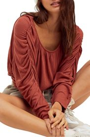 Free People You're the One Pleated Top