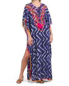 Take Notice Floor Length Beach Cover-up Dress