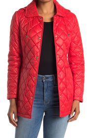 Sam Edelman Hooded Short Quilted Coat