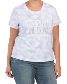Plus Go With The Flow T-shirt
