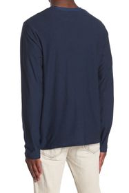 PX Striped Long Sleeve Henley