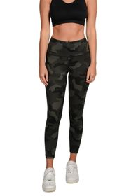 90 Degree By Reflex Lux Camo High Waisted Ankle Le