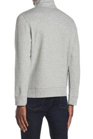 Nautica Chest Logo Quarter Sleeve Fleece Sweater