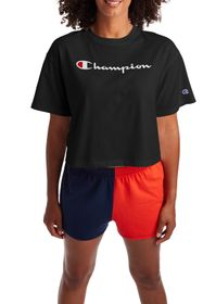 Champion The Cropped Logo T-Shirt