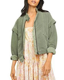 Free People - Florence Quilted Bomber Jacket