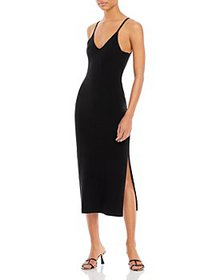 FRENCH CONNECTION - Lenny Ribbed Knit Dress