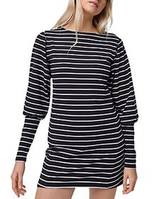 FRENCH CONNECTION - Sally Tim Tim Striped Dress