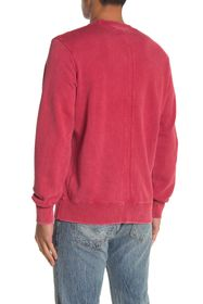 OVADIA AND SONS Long Sleeve Washed Out Crew Neck S