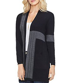 VINCE CAMUTO - Color Blocked Cardigan