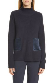 BOSS Faonia Ribbed Turtleneck Sweater