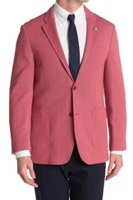 Ben Sherman Red Birdseye Two Button Notch Lapel Un