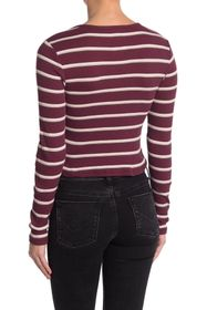 Dickies Stripe Rib Knit Top