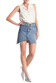 BLANKNYC Denim High Rise Asymmetrical Skirt