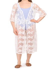 Lace Crochet Cover-up