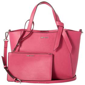 Nine West Lexie Pebble Trap Tote with Removable Po