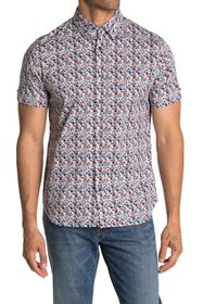 Ben Sherman Short Sleeve Floral Print Shirt