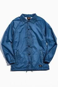 Dickies Snap Front Nylon Coaches Weather-Resistant