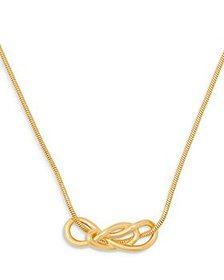 kate spade new york - Twist Knot Collar Necklace i