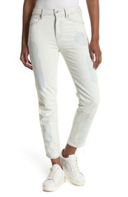 G-STAR RAW Biwes Badge High Rise Straight Fit Ankl