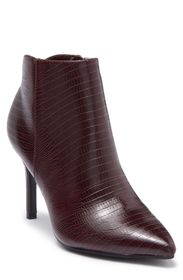 Nine West Franky Texture Embossed Pointed Toe Boot
