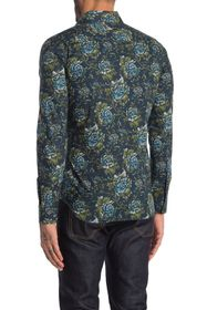 Burberry Seaford Floral Button-Down Collar