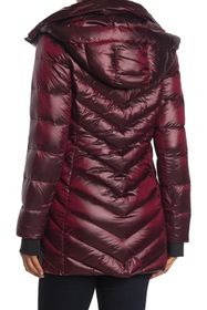 BCBGeneration Missy Chevron Pillow Coat