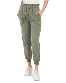 Paper Bag French Terry Joggers