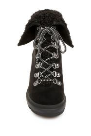 Rampage Sage Faux Shearling Trim Lace-Up Boot