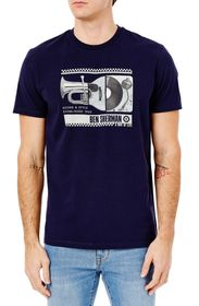 Ben Sherman Spliced Music Sound & Style Graphic T-