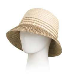 Made In Italy Cloche With Bow