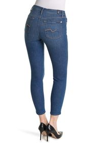 7 For All Mankind Gwenevere Ankle Cut Skinny Jeans