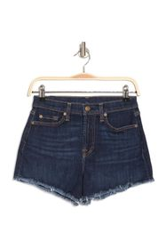 7 For All Mankind High Waisted Frayed Shorts