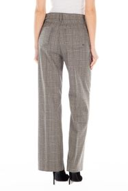 FIDELITY DENIM Sunday High Rise Wide Leg Plaid Pan