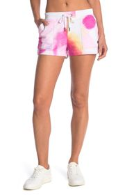 Champion Campus Tie Dye French Terry Knit Shorts
