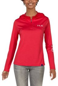 Huk Icon Long-Sleeve Hoodie for Ladies