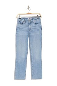 PAIGE Hoxton Raw Ankle Crop Slim Jeans