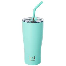 Wellness Turquoise 30oz. Double Wall Tumbler with