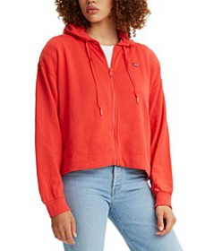 Women's Fleece Zip-Up Hoodie
