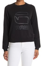 G-STAR RAW Graphic Logo Pullover