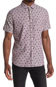 Ben Sherman Hat Print Short Sleeve Shirt